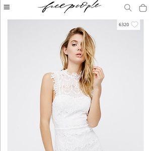 NEW Free People lace dress
